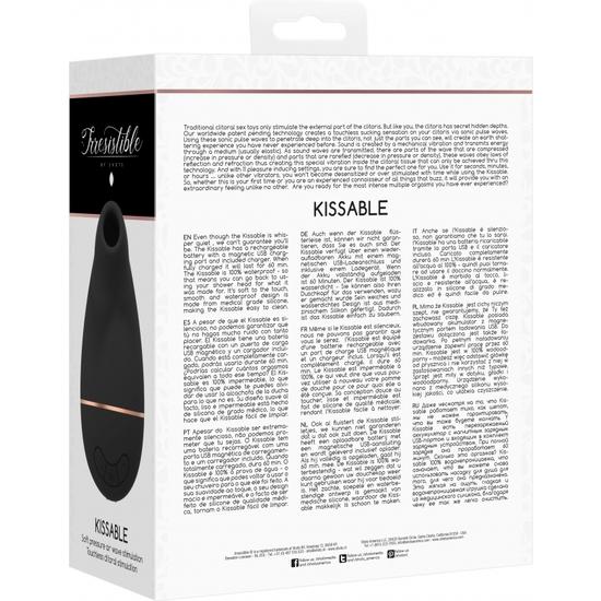 IRRESISTIBLE KISSABLE SUCCIONADOR - NEGRO (2)