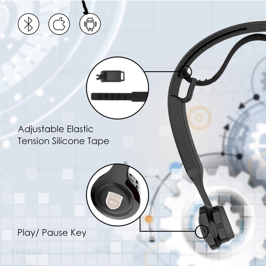 AURICULARES BLUETOOTH OSEOS NLE
