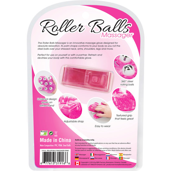 ROLLER BALLS MASAJEADOR - ROSA (2)