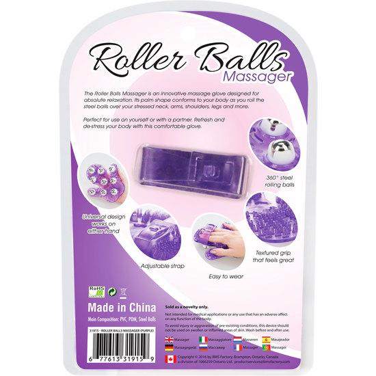 ROLLER BALLS MASAJEADOR - MORADO (2)