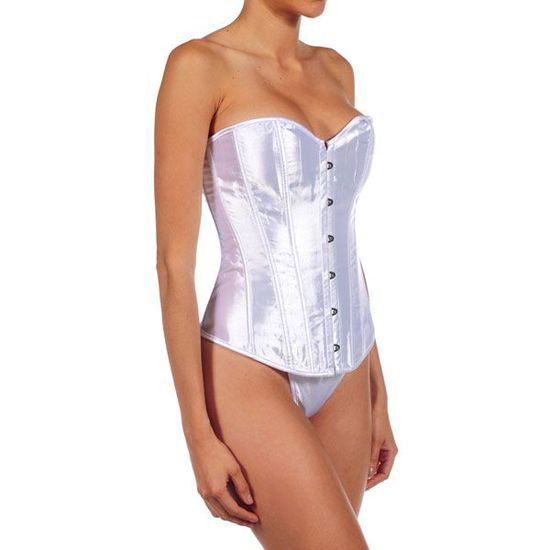 INTIMAX CORSET FORTUNA BLANCO