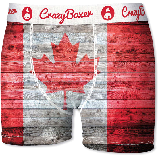 SET 2 BOXER CRAZY BOXER CANDY AND CANADIAN (PEQUENA - )