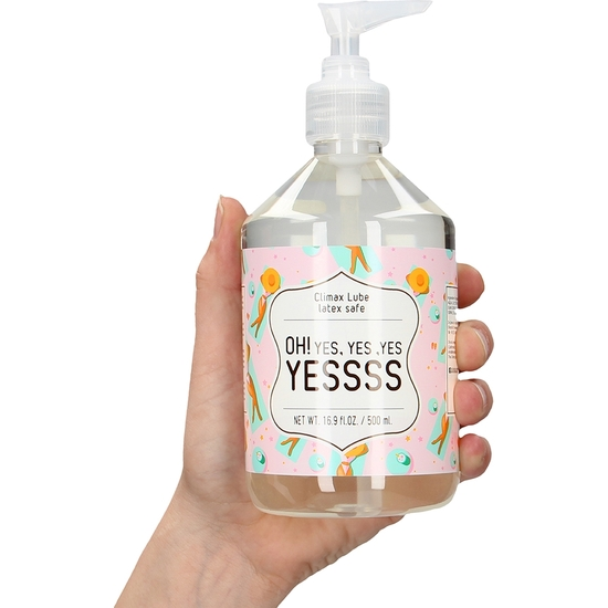 CLIMAX LUBRICANTE  - OH! YES, YES ,YES YESSSS - 500 ML (2)
