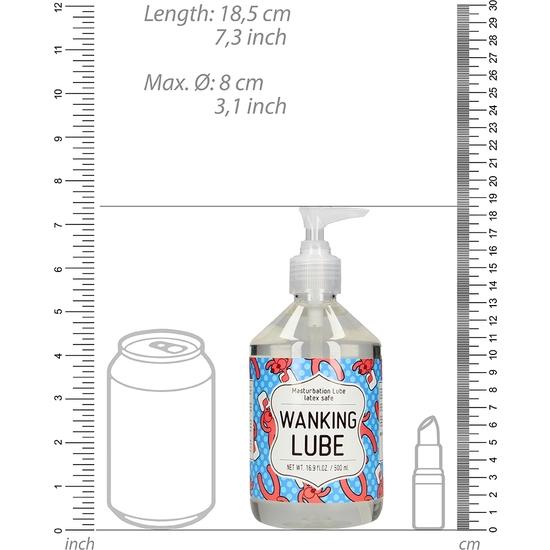 MASTURBATION LUBE - LUBRICANTE WANKING  - 500 ML (1)
